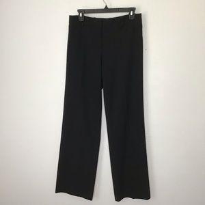 Trina Turk Black Knit Straight Leg Pants Sz 8